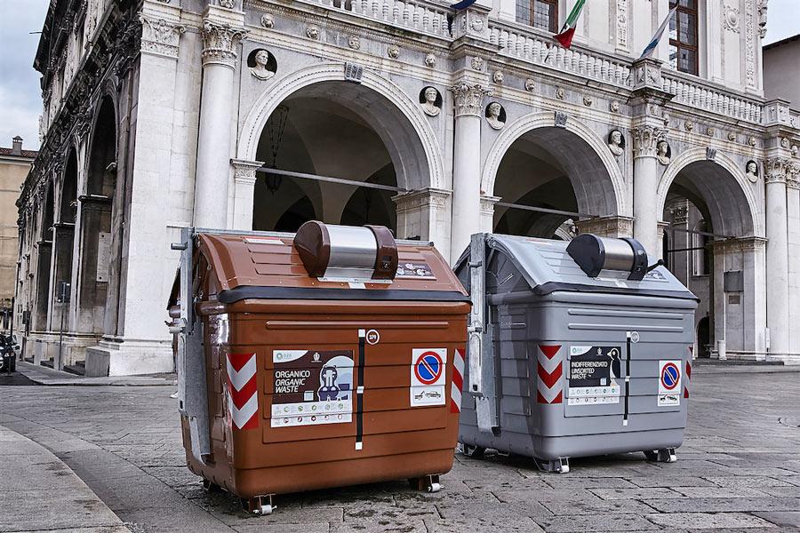 Il nuovo metodo di raccolta rifiuti sta funzionando
