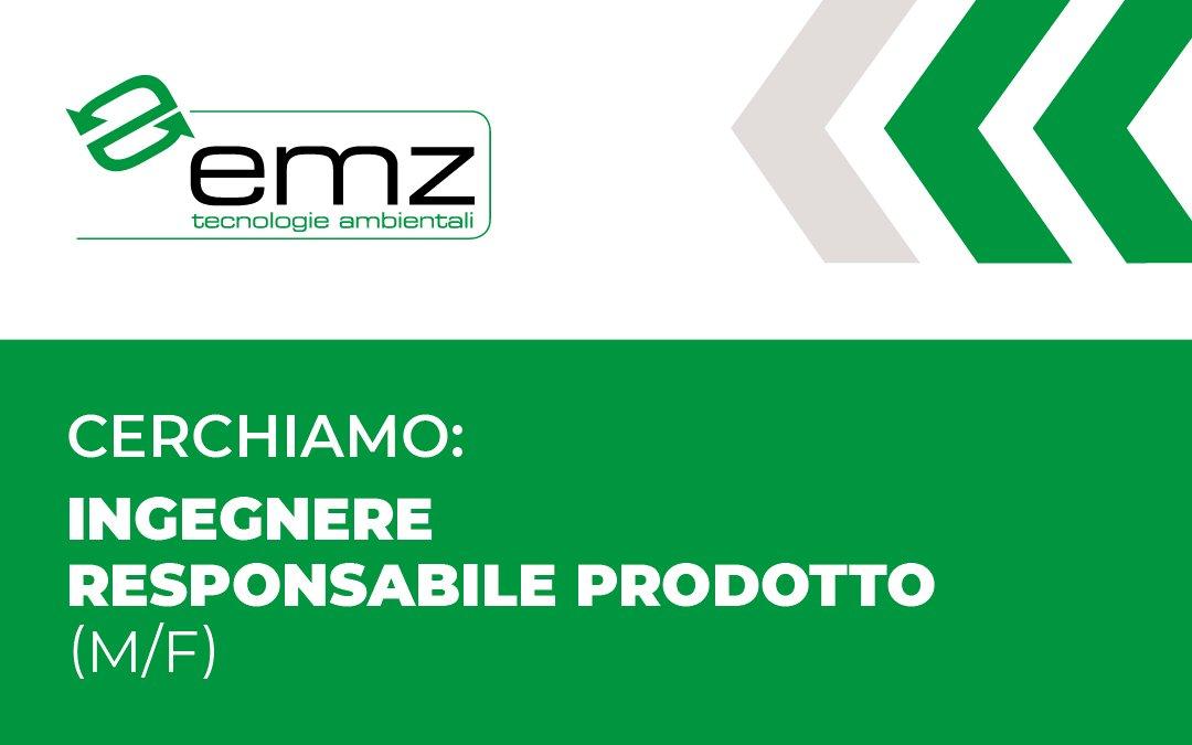 CERCHIAMO            Ingegnere/            Responsabile prodotto (m/f).